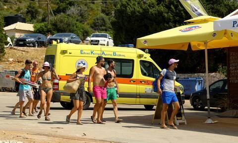 Κρήτη: Εξάχρονος κόντεψε να πνιγεί στη Σταλίδα - Είχε αναρτηθεί κόκκινη σημαία