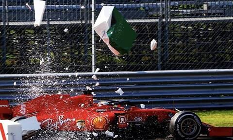 «Πάγωσαν» στη Μόντσα με Λεκλέρκ: Τρομακτικό ατύχημα στη F1 (video+photos)