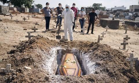 Κορονοϊός στη Βραζιλία: 447 θάνατοι και 14.521 κρούσματα τις προηγούμενες 24 ώρες