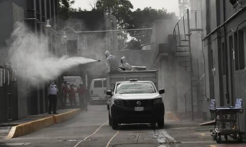Κορονοϊός στο Μεξικό: 232 θάνατοι και 4.614 κρούσματα μόλυνσης σε 24 ώρες