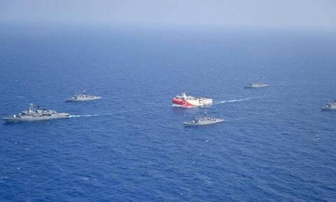 Απειλούν οι Τούρκοι: «Το Oruc Reis θα φτάσει στο Καστελόριζο και τη Ρόδο»