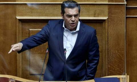 Βουλή - Tσίπρας: «Η κυβερνητική προπαγάνδα δεν μπορεί να καλύψει την ανασφάλεια της κοινωνίας»