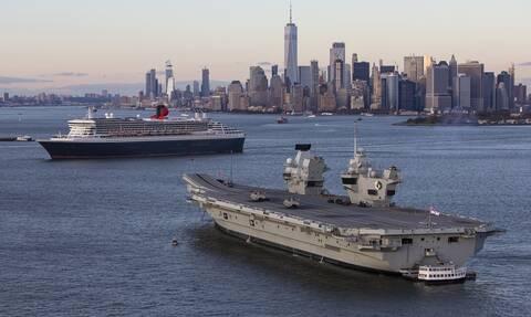 Κορονοϊός: Σε «καραντίνα» το αεροπλανοφόρο HMS Queen Elizabeth – Θετικά μέλη του πληρώματος