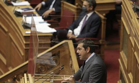 Κόντρα Μητσοτάκη -Τσίπρα στη Βουλή: Σφοδρή αντιπαράθεση για τον κορονοϊό