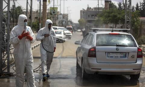 Κορονοϊός στην Παλαιστίνη: Ο αριθμός των κρουσμάτων δεκαπλασιάστηκε σε δύο εβδομάδες