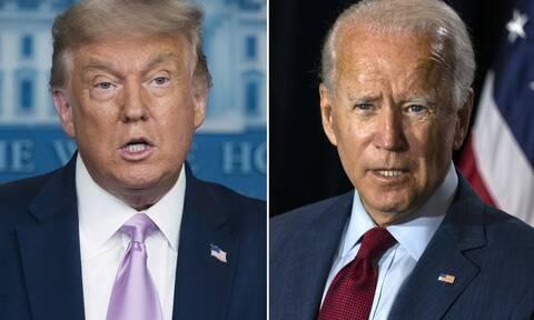Εκλογές ΗΠΑ: Με σκληρές κουβέντες η πολιτική αντιπαράθεση μεταξύ Τραμπ και Μπάιντεν