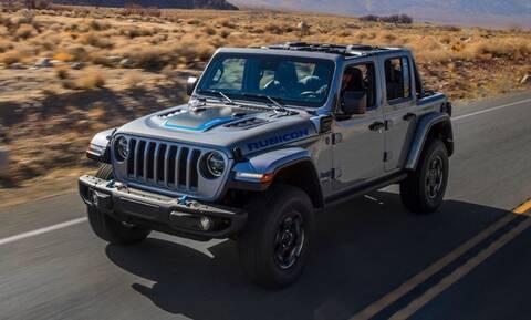 Jeep: Tο Wrangler 4xe πλαισιώνει τα αντίστοιχα Renegade 4xe και Compass 4xe
