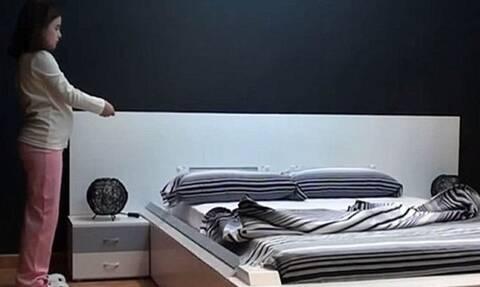 Το κρεβάτι που στρώνεται μόνο του είναι η καλύτερη εφεύρεση του αιώνα
