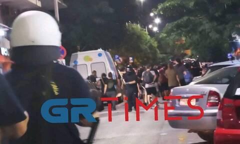 Επεισόδια στη Θεσσαλονίκη: Μολότοφ και δακρυγόνα στο κέντρο της πόλης