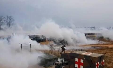 Έβρος: Πολεμικές ιαχές! Ψυχολογικός πόλεμος με εμβατήρια και πυροτεχνήματα από τους Τούρκους