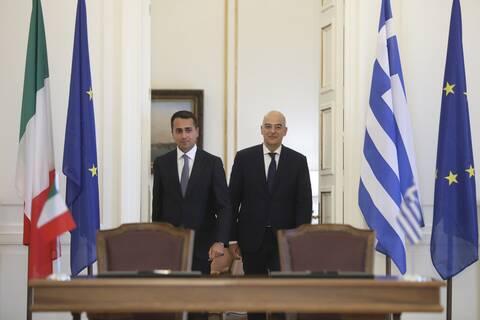 Ιταλία - Ντι Μάιο για Τουρκία: Εκφράσαμε τη συμπαράστασή μας σε Ελλάδα και Κύπρο