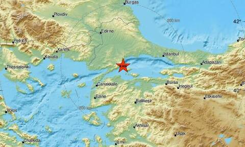 Σεισμός στη Θάλασσα του Μαρμαρά - Αισθητός σε Έβρο και Κωνσταντινούπολη