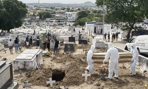 Κορονοϊός στη Βραζιλία: 504 θάνατοι και 14.279 κρούσματα σε 24 ώρες