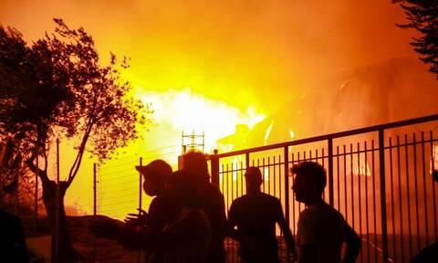 Φωτιά στην Μόρια: Σοβαρό ζήτημα Εθνικής Ασφάλειας το μεταναστευτικό