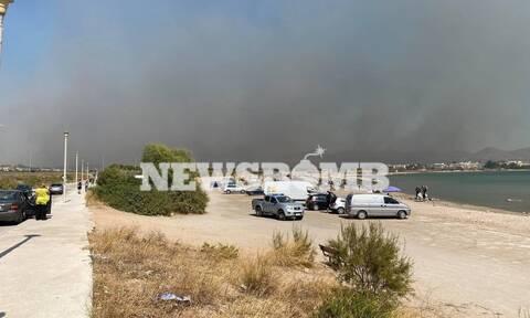Φωτιά ΤΩΡΑ Κερατέα: Σε κατάσταση έκτακτης ανάγκης ο Δήμος Σαρωνικού