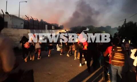 Μόρια: Οι ύποπτες κινήσεις των Τούρκων την ώρα της φωτιάς και ο συναγερμός στην ΕΥΠ