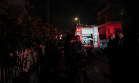 Φωτιά στην Ηλεία: Στις φλόγες διώροφη πολυκατοικία στα Λαστέικα