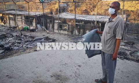 Το Newsbomb.gr στη Μόρια: Εικόνες καταστροφής από το εσωτερικό του ΚΥΤ