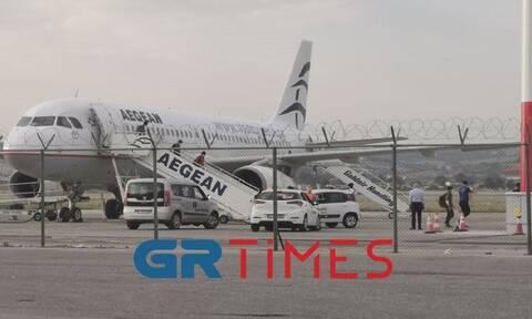 Στη Θεσσαλονίκη η τρίτη πτήση με προσφυγόπουλα από τη Μόρια (pics - vid)