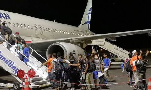Μόρια: Ολοκληρώθηκε η αναχώρηση των 406 ασυνόδευτων παιδιών από την Μυτιλήνη