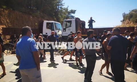 Μόρια - «Δεν αντέχουμε άλλο, δεν είμαστε ρατσιστές»: Εξοργισμένοι οι κάτοικοι στην Μυτιλήνη