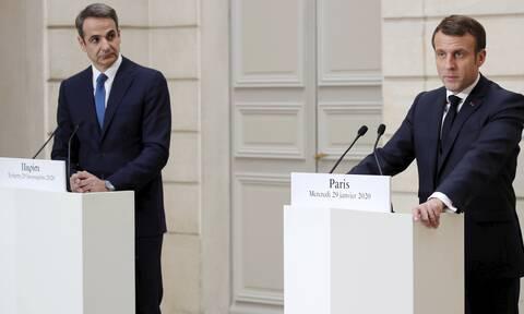 Κρίσιμη συνάντηση Μακρόν-Μητσοτάκη – Αυστηρό μήνυμα του Γάλλου προέδρου στην Τουρκία