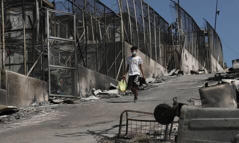 Μηταράκης για Μόρια: Αγνοούνται οι 35 πρόσφυγες που είναι θετικοί στον κορoνοϊό