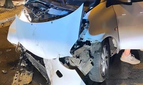 Τροχαίο για νεαρό άσο του Ολυμπιακού - Διαλύθηκε το αμάξι, καλά στην υγεία του ο ίδιος (photos)