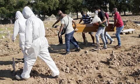 Κορονοϊός στη Βραζιλία: 983 θάνατοι και 40.557 κρούσματα σε 24 ώρες