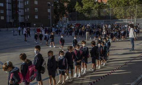 Κορονοϊός Ισπανία: Κρούσματα σε 53 σχολεία την πρώτη εβδομάδα της νέας σχολικής χρονιάς