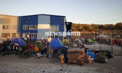 Μόρια: «Όχι» στην εγκατάσταση προσφύγων και μεταναστών στον Καρά Τεπέ