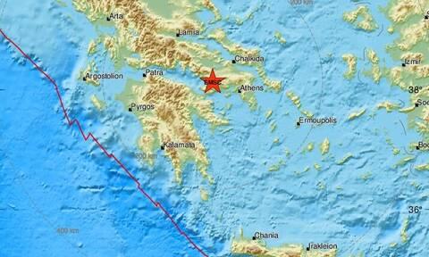 Σεισμός κοντά στις Αλκυονίδες