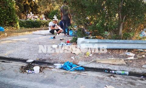 Μετανάστες στην Μόρια έκαναν «σκουπιδαριό» τις εκκλησίες και τα νεκροταφεία