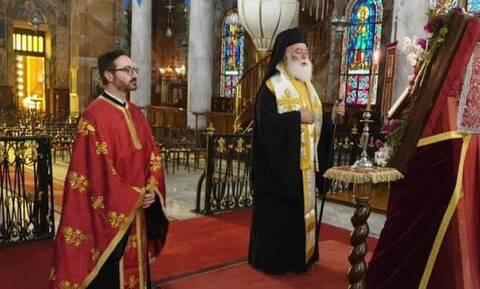 Στην Κύπρο ο Πατριάρχης Αλεξανδρείας Θεόδωρος