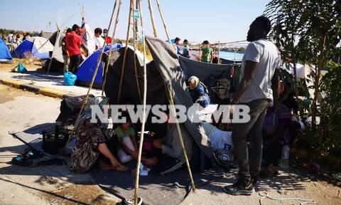 Μόρια: 7.000 τεστ κορονοϊού φτάνουν σήμερα στη Μυτιλήνη