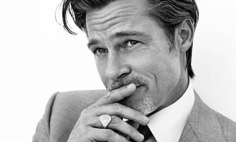 Ο Brad Pitt στον νέο του ρόλο ως μοντέλο είναι απλά... γοητευτικότατος