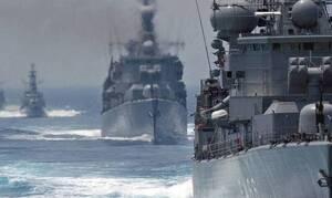 Турция требует вывести греческие военные корабли из Средиземноморья