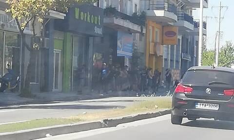 ΑΕΚ-Ολυμπιακός: Καρέ καρέ η ένταση στον Βόλο (photos)