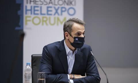 ΔΕΘ 2020 - Μητσοτάκης: Το ενσταντανέ που τράβηξε τα φλας των φωτογράφων - Η συνάντηση με τον Judge