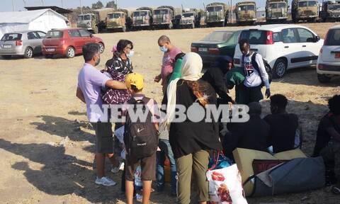 Το Newsbomb.gr στη Μυτιλήνη: Το πρώτο θετικό κρούσμα στη νέα δομή