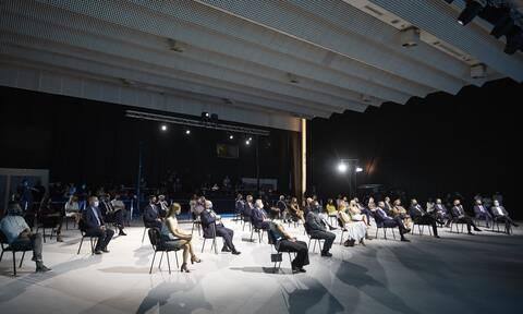 Πρωτοφανείς εικόνες στη ΔΕΘ: Αποστάσεις, μάσκες και μόνο 50 προσκεκλημένοι