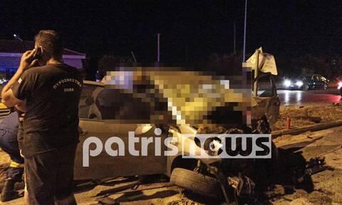 Ασύλληπτη τραγωδία στην Πατρών – Πύργου: Νεκρό μωράκι 16 μηνών σε φρικτό τροχαίο