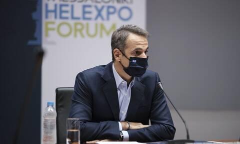 ΔΕΘ 2020 - Μητσοτάκης σε δημοσιογράφους:Αν δεν βάλετε μάσκα, δεν σας μιλάω (vid)