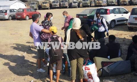 To Newsbomb.gr στη Μυτιλήνη: 7 μετανάστες θετικοί στον κορονοϊό στο Καρά Τεπέ (pics)