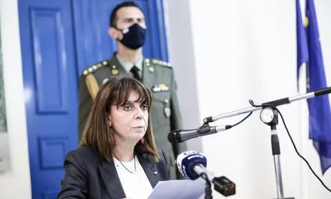 Σακελλαροπούλου από Καστελόριζο:Δεν υποκύπτουμε σε απειλές, ούτε σε εκφοβισμούς