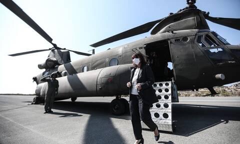 Πολεμική Αεροπορία: Έτσι προστάτεψε την πτήση της Σακελλαροπούλου για Καστελόριζο