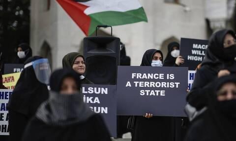 Τουρκία: Διαδηλώσεις κατά του Charlie Hebdo για σκίτσα του Μωάμεθ
