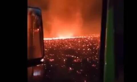 Απίστευτο βίντεο - Καλιφόρνια: Δημιουργήθηκε τρομακτικός ανεμοστρόβιλος φωτιάς