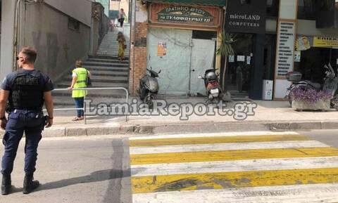 Σοκ στη Λαμία: Παράσυρση μαθήτριας έξω από σχολείο - Δείτε εικόνες