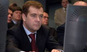 Дмитрию Медведеву — 55